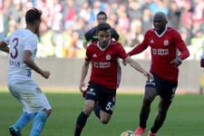Sivasspor Trabzonspor maçı fotoğrafları