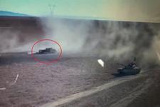 Bombalı araç böyle vuruldu!