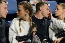 Serenay'la Kerem maçı bırakıp birbirleriyle ilgilendiler