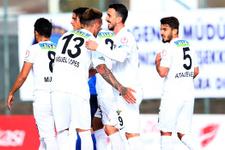 Akhisar Demirspor'u yendi tur kapısını araladı