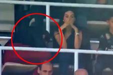 Cristiano Ronaldo'nun annesi heyecandan sahaya bakamadı