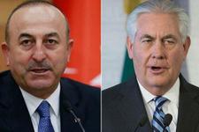 Çavuşoğlu'ndan Tillerson ile kritik görüşme