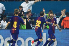 Barcelona Kral Kupası'nda 5 golle turladı