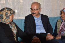 Bakan Elvan'dan cam kemik hastası kardeşlere yeni ev