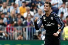Ronaldo'dan şaşkına çeviren performans