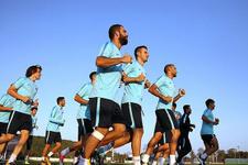 Milliler Romanya maçı hazırlıklarını sürdürdü