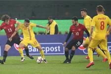 Romanya-Türkiye maçı golleri ve geniş özeti