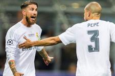 Cristiano Ronaldo'nun Pepe sözlerine Ramos'tan tepki
