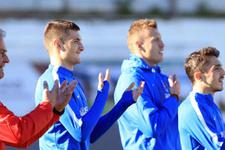 Trabzon antrenmanında 'haka' dansı