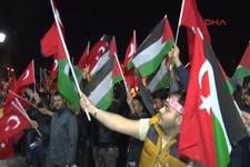 Ayasofya Meydanı'nda Kudüs protestosu