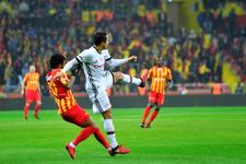 Kayserispor Beşiktaş maçı golleri ve geniş özeti