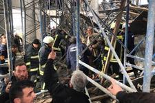Şanlıurfa'da inşaat çöktü enkaz altında kalanlar var