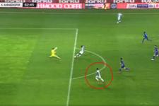 Atiker Konyaspor - Kardemir Karabükspor maçında skandal hata
