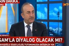 Çavuşoğlu'ndan 'Beşar Esad' açıklaması
