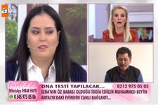 Esra Erol Seba Boyraz'ın babası DNA testi sonucu ortalık karıştı