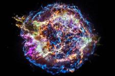 Süpernova kalıntısındaki maddelerin renk tiyatrosu