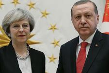 Cumhurbaşkanı Erdoğan, May ile Kudüs'ü görüştü
