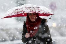 İstanbul'a kar geliyor 24 Aralık pazar gününe dikkat!