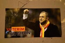 Galatasaraylılar'dan Florya'da Fatih Terim'li protesto