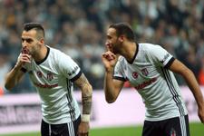 Negredo Galatasaray'a golünü attı 3'lü çektirdi