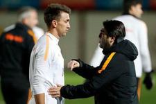 Galatasaray antrenmanındaki ilginç detay!