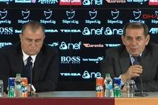Galatasaray'da Fatih Terim için imza töreni düzenlendi