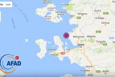 Son deprem 4.8 büyüklüğünde oldu İzmir- Edremit ve...