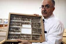 Keşfettiği böceğe babasının adını verdi