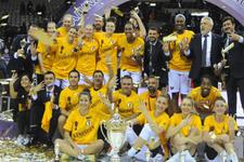 Fenerbahçe'yi yenip Cumhurbaşkanlığı Kupası'nı aldılar