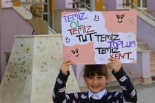 Şırnak'ta çocuklar harekete geçti temizlik için bakın ne yaptılar