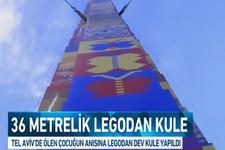 Kanserden ölen 8 yaşındaki Ömer için dev lego kulesi