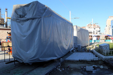Nostaljik Tramvay bakımın ardından Taksim Meydanı'na getirildi