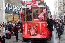 Nostaljik Tramvay seferlere başladı