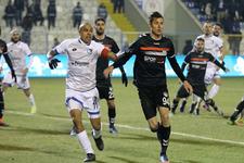 Erzurum'daki maçta kazanan çıkmadı