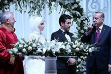 Erdoğan'ın huzurunda ilk müftü nikahı kıyıldı