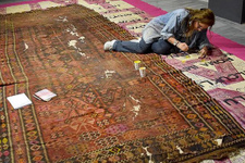 Anadolu medeniyetlerini asırlık kilimle dünyaya anlatacak