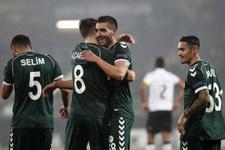 Vitoria Guimaraes Konyaspor maçı fotoğrafları