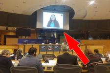 Avrupa Parlamentosunda skandal görüntü!