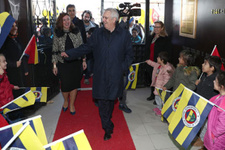 Aziz Yıldırım Bursa'da pota açılışı yaptı
