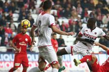 Antalyaspor Gençlerbirliği maçı sonucu ve golleri