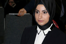 Binali Yıldırım'ın kızı Büşra Köylübay basının karşısına çıktı