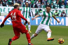 Antalyaspor'un galibiyet serisi son buldu