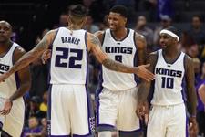 NBA'de zorlu maç Sacramento'nun oldu