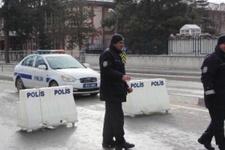 Güvenlik önlemleri üst düzeyde caddeler kapatıldı!