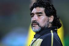 Maradona'dan Napoli'ye destek