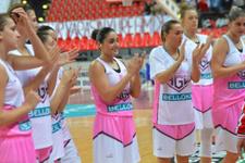 Bellona AGÜ şov yaptı çeyrek finale çıktı