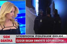 Müge Anlı'da şok polis stüdyoyu bastı