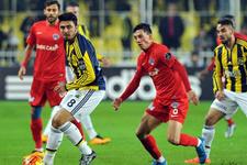 Fenerbahçe Kasımpaşa'ya karşı üstün