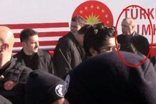 Erdoğan'ın konvoyunda kaza başından ayrılamadı!