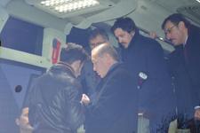 Erdoğan'dan geç saatte sürpriz ziyaret